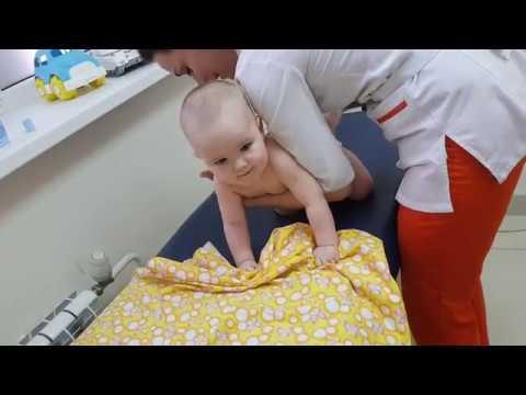 Массаж ребенку в 9 месяцев