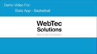 Stats App - Basketball Demo