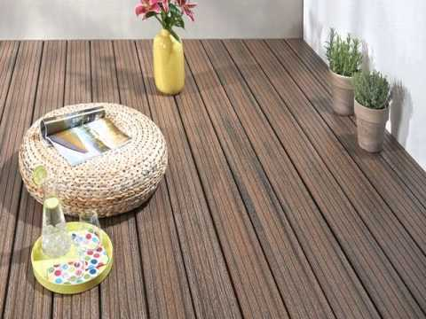 easy to clean outdoor wpc flooring