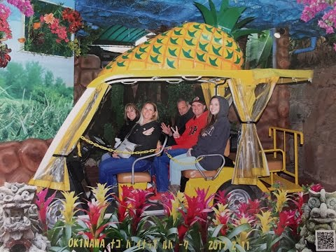 Pineapple Park in Okinawa, Japan