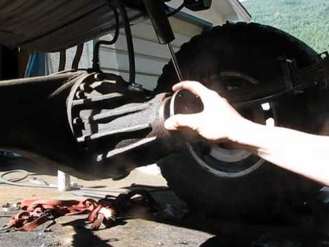 Howto 1994 Toyota 4runner Rear Pinion Seal Youtube. Howto 1994 Toyota 4runner Rear Pinion Seal. Toyota. 1996 Toyota T100 Rear Axle Diagram At Scoala.co