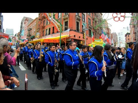 Full Feast Of San Gennaro 2019 Grand Procession Parade, Little Italy, NYC