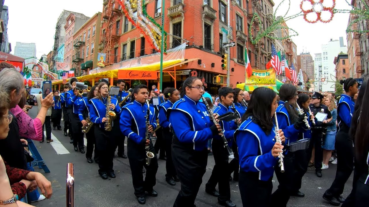 Mulberry Street Christmas Parade 2020 Nyc Full Feast of San Gennaro 2019 Grand Procession Parade, Little