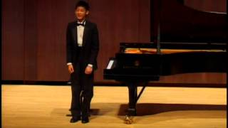 Kevin Jang Piano Recital @ Juilliard School