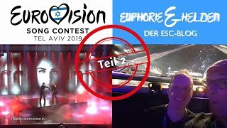 "ESC-Blog ""Euphorie & Helden"" 2019 aus Tel Aviv - Teil 2 - Orange Is The New Red"