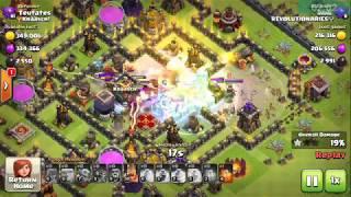 clash of clans : TH10 Goblin knife dark elixer loot 5k
