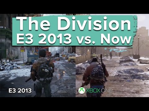 The Division: E3 2013 vs. Now - graphics and gameplay comparison