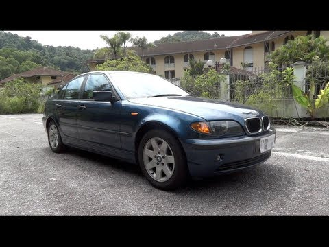 2002 BMW 318i 2.0 (E46) Start-Up, Full Vehicle Tour, and Quick Drive