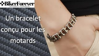 ✅ Bijoux - Bracelet - Chaîne de Moto - BikerForever.fr 👍✌️🏍✅