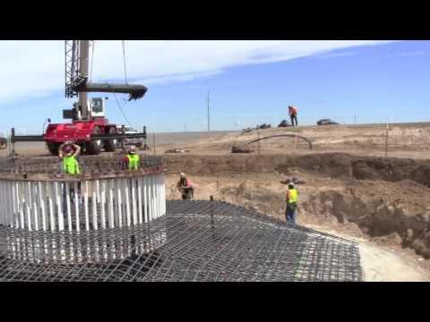 PaTu Wind Farm - Foundation Construction June 28 - July 10, 2010