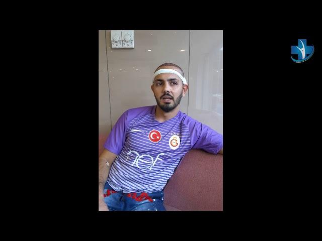 Greffe de cheveux Turquie - Témoignage de M. Jalili - Dr. Oyku Celen - Skin Health Turkey