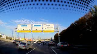 Смотреть видео 20181013 ДТП Москва МКАД Алтуфьевское шоссе онлайн