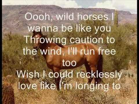 Natasha Bedingfield Wild Horses - w/ lyrics