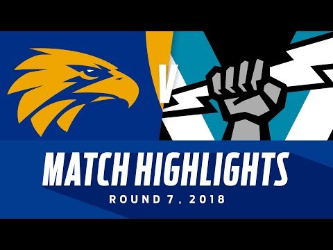 West Coast v Port Adelaide Highlights- Round 7 2018 - AFL