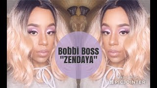 NEW WIG ALERT 🚨| Bobbi Boss Zendaya Wig Review| Ebonyline.com