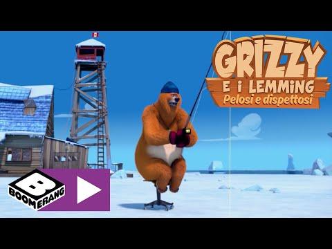 Download Pesca sul ghiaccio   Grizzy e i Lemming   Boomerang