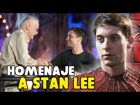 HOMENAJE DE TOBEY MAGUIRE SPIDERMAN A STAN LEE  Scream Awards 2009