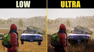 State of Decay 2 Low vs. Ultra (Graphics Comparison)
