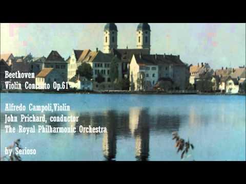 Beethoven, Violin Concerto, Campoli