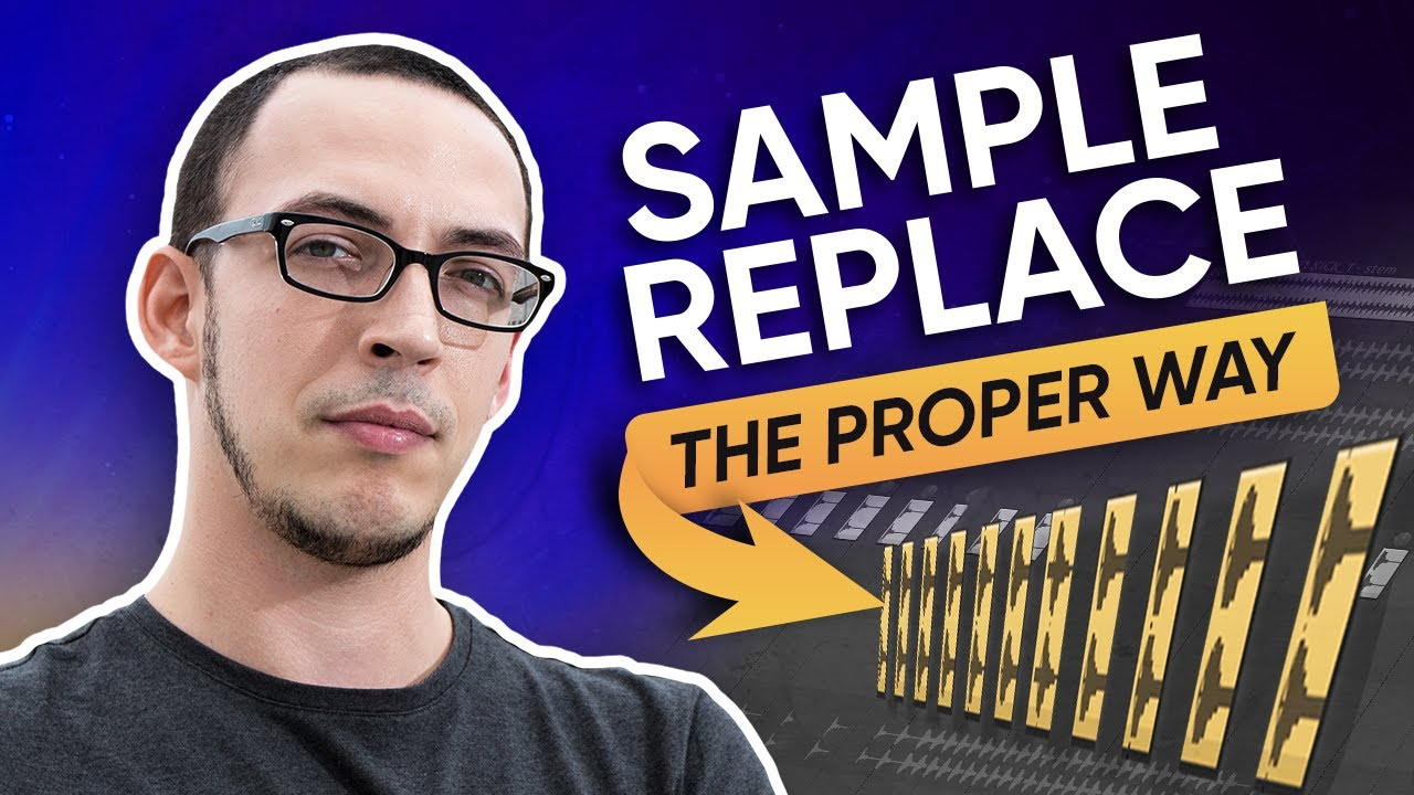 How To Sample Replace Drums