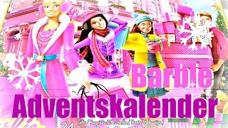BARBIE ADVENTSKALENDER 2016 | Alle 24 Türchen | Kinder Kalender Unboxing