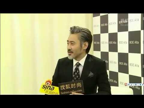 吳秀波 Wu Xiubo :  BOE Alta 發布會後接受媒體訪問