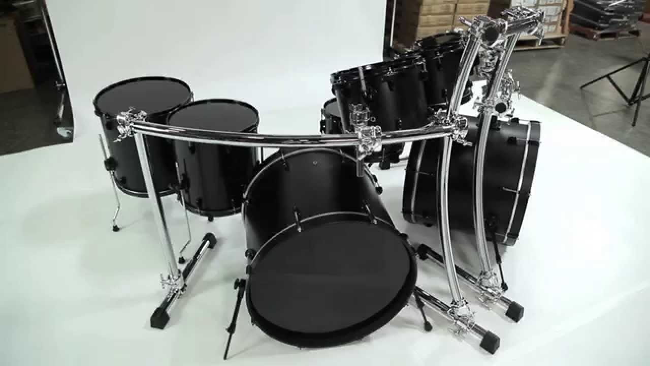 Custom Double Bass Drum Racks