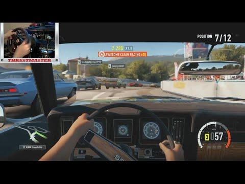 Forza Horizon 2 LP Ep10 Back to the V8 w/Thrustmaster Wheel Cam (XB1) | SLAPTrain