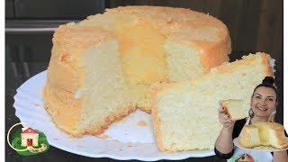 Bolo sem Farinha, sem Leite e sem Fermento – Gigante e Delicioso