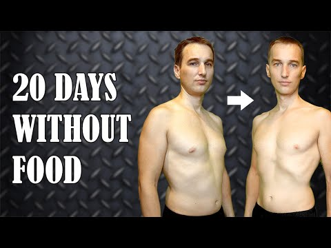 NO FOOD FOR 20 DAYS / Water Fasting / Day 21
