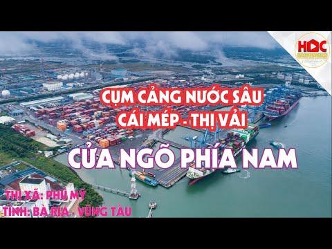 2021 Flycam cụm cảng nước sâu Cái Mép Thị Vải Bà Rịa Vũng Tàu| Học Bất Động Sản