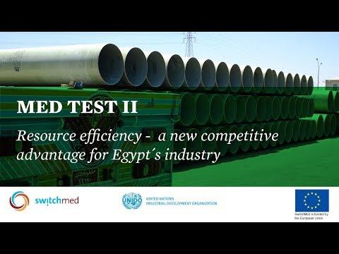 MED TEST II - Resource efficiency in Egypt's industries