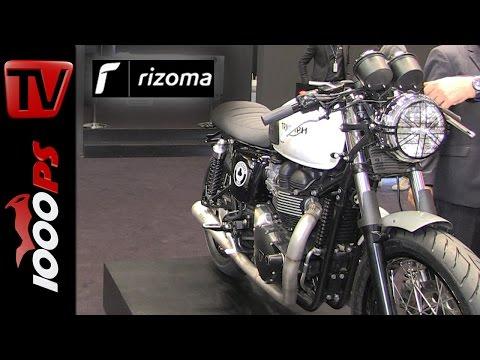 Rizoma Neuheiten 2016   Triumph Thruxton 900