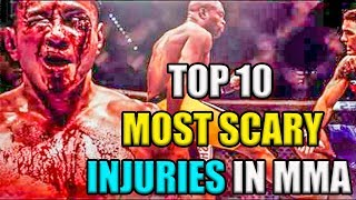 TOP 10 UFC Worst & worst Injuries in MMA 2019