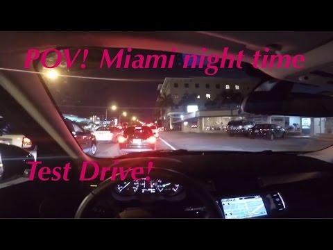 POV: You Drive My 2014 Range Rover Evoque - Night Time Test Drive Miami