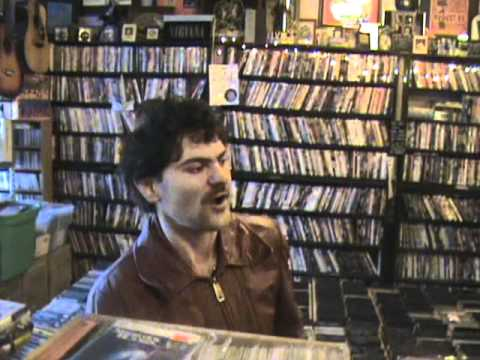 mad as fuck crazy Jeff visites my store TOMS MUSIC TRADE