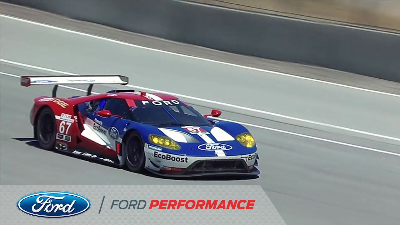 All New Ford Gt First Win Imsa Ford Performance