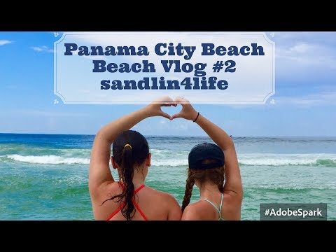 Panama City Beach Day Beach Vlog #2