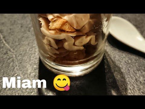 Vidéo de la réalisation de la Mousse Kinder Chocolat