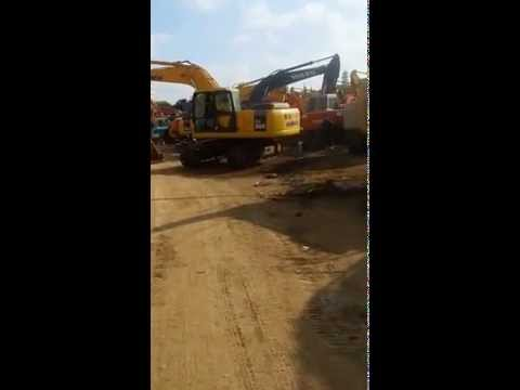 How to test a uesd excavator ?Komatsu PC200 for example