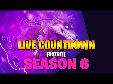Fortnite Season 6 Live Countdown Season 6 Trailer Soon Youtube
