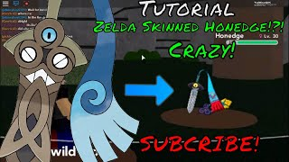 How To Get Zelda Skinned Honedge | PBB | Roblox