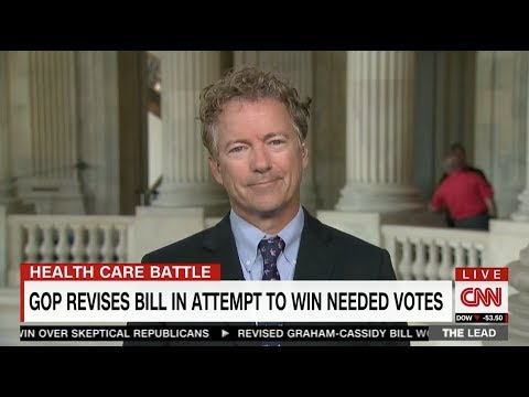 "Sen. Rand Paul on CNN's ""The Lead with Jake Tapper"" - Sept. 25, 2017"
