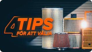 AUDI A3 tips om underhåll