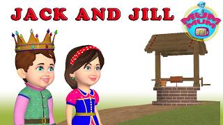 Jack and Jill Went Up The Hill Lyrics & Nursery Rhymes Song with Action | Mum Mum TV