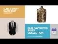 default - Men's Slim Fit One Button 3-Piece Suit Blazer Dress Suit Jacket Tux Vest & Trousers