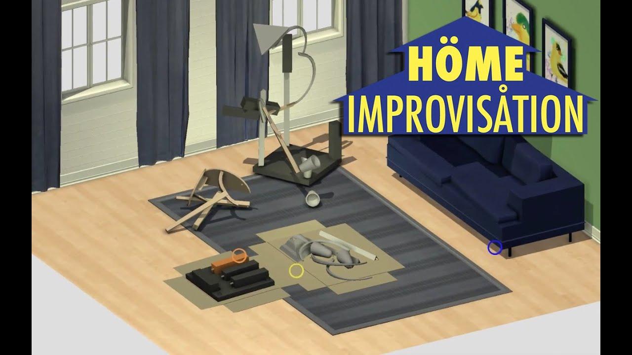 h me improvis tion the awesomer. Black Bedroom Furniture Sets. Home Design Ideas