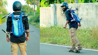 FLYING HOVERBOARD MAKING | M4 TECH |