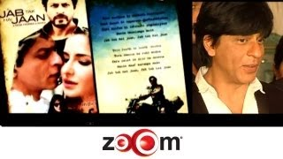 Shahrukh narrates the story of Jab Tak Hai Jaan