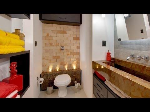 Qual o melhor revestimento para o piso e parede do banheiro - YouTube